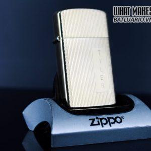 ZIPPO SLIM 1970S – 10K GOLD FILLED – TYLER