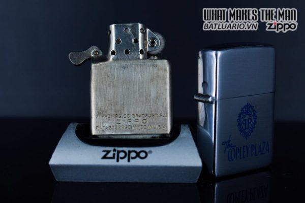 ZIPPO XƯA 1949 – 1950 – THE COPLEY PLAZA 3