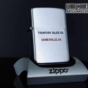 ZIPPO XƯA 1951 – 1952 – THOMPSON SALES CO