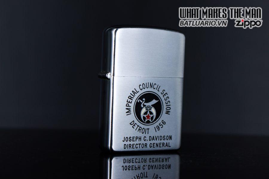 ZIPPO XƯA 1956 – IMPERIAL COUNCIL SESSION DETROIT 1956 5