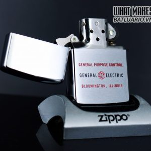 ZIPPO XƯA 1965 – GENERAL ELECTRIC 1