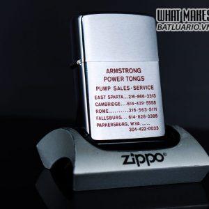 ZIPPO XƯA 1979 – ARMSTRONG POWER TONGS