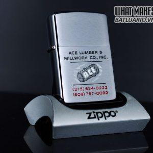 ZIPPO XƯA 1980 – ACE LUMBER & MILLWORK CO.INC