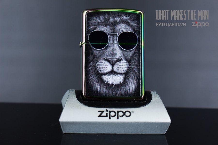 ZIPPO 151 LION IN SUNGLASSES DESIGN 2