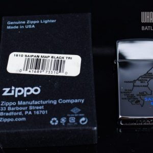 ZIPPO 1610 SAIPAN MAP BLACK 1