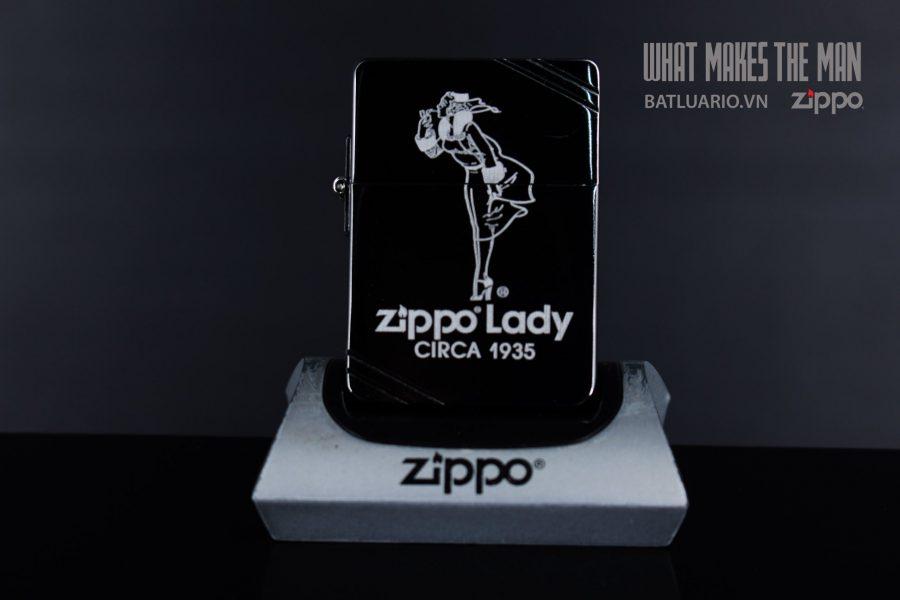 ZIPPO 1935 LADY CIRCA1935 2