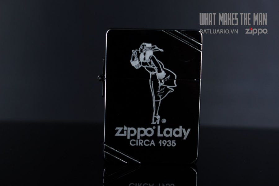 ZIPPO 1935 LADY CIRCA1935 5