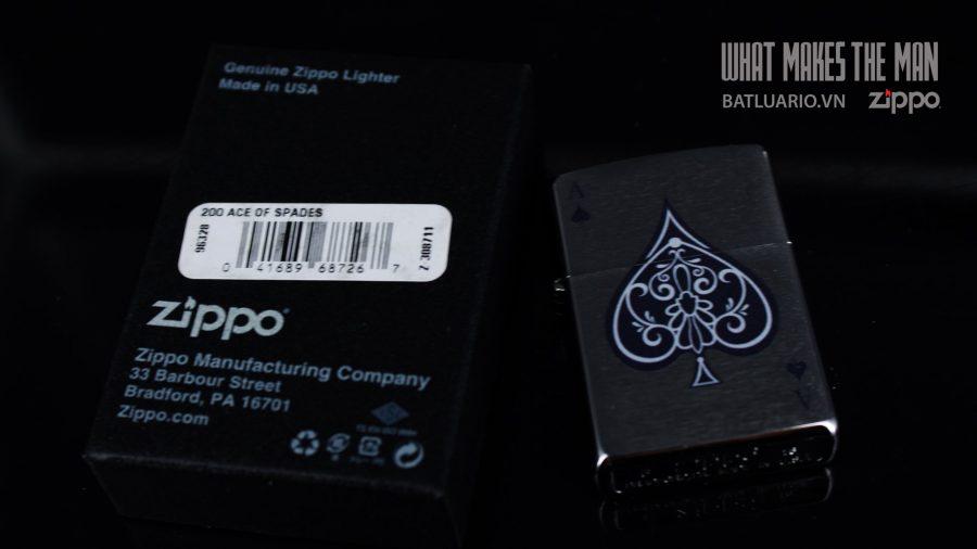 ZIPPO 200 ACE OF SPADES 1