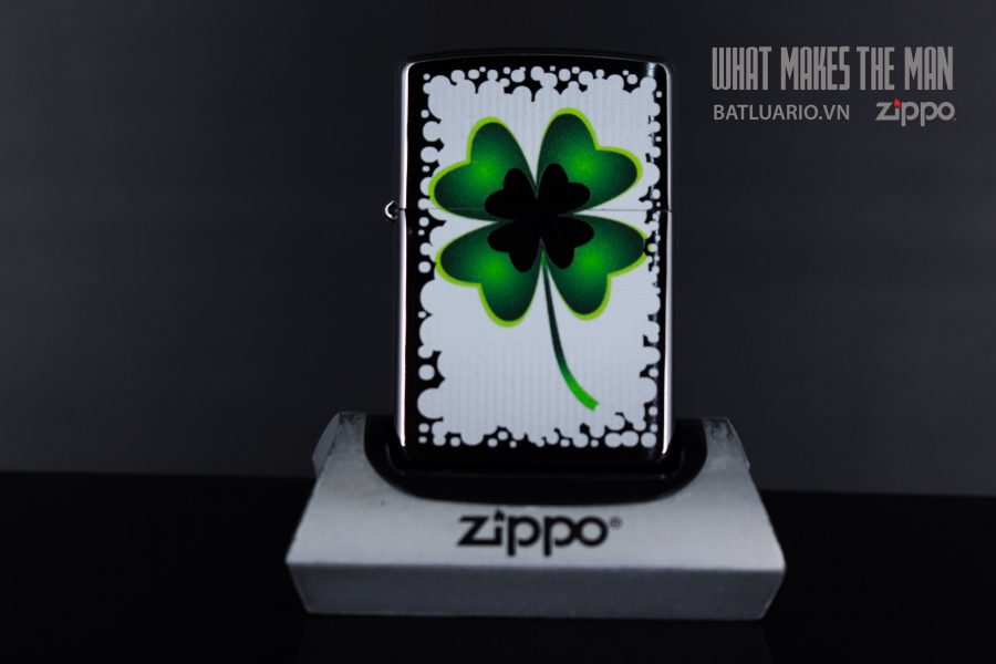 ZIPPO 200 CLOVER AND GOLD 2