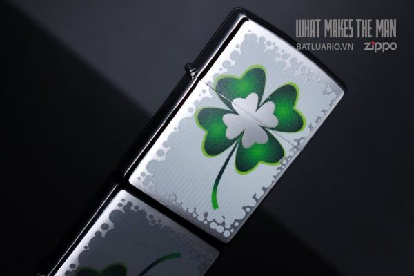 ZIPPO 200 CLOVER AND GOLD 6
