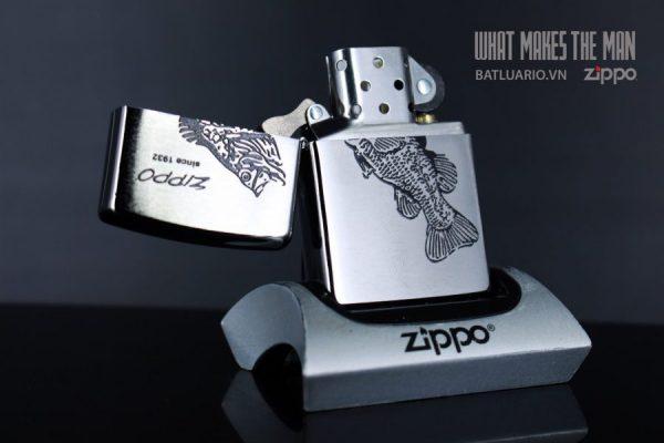 ZIPPO 200 FISH BLACK 4