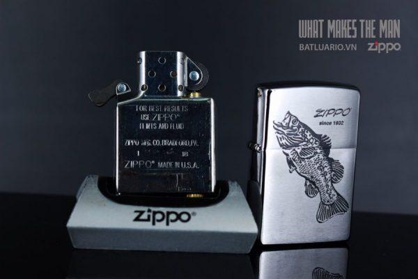 ZIPPO 200 FISH BLACK 6
