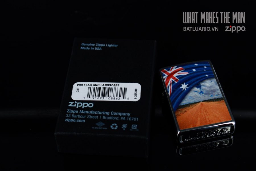 ZIPPO 200 FLAG AND LANDSCAPE 1