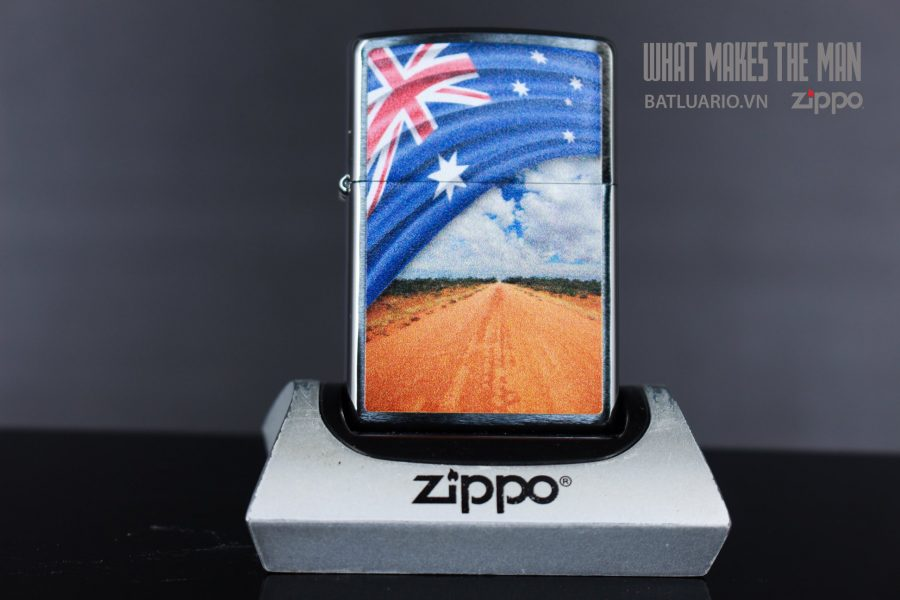 ZIPPO 200 FLAG AND LANDSCAPE 2