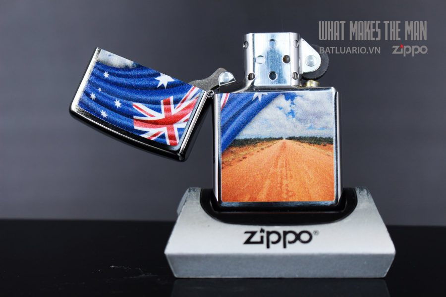 ZIPPO 200 FLAG AND LANDSCAPE 3
