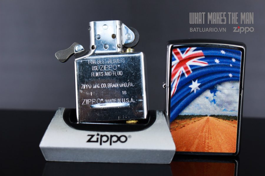 ZIPPO 200 FLAG AND LANDSCAPE 6
