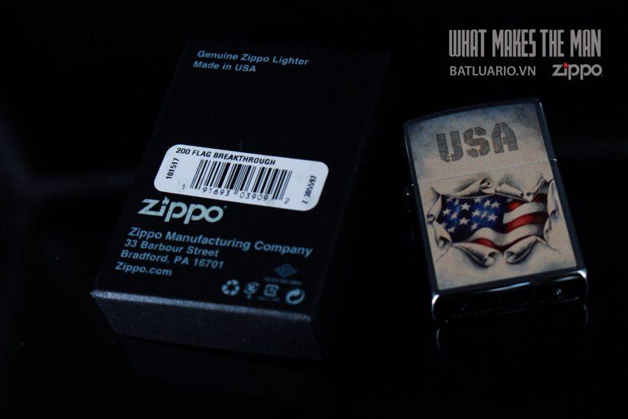 ZIPPO 200 FLAG BREAKTHROUGH 1