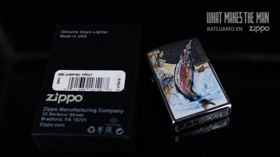 ZIPPO 200 JUMPING TROUT 1