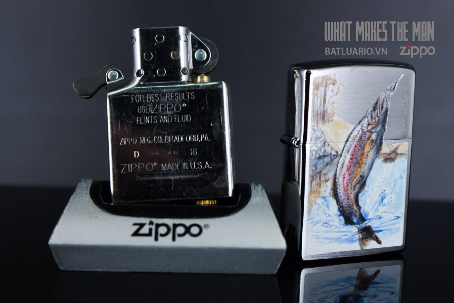 ZIPPO 200 JUMPING TROUT 6
