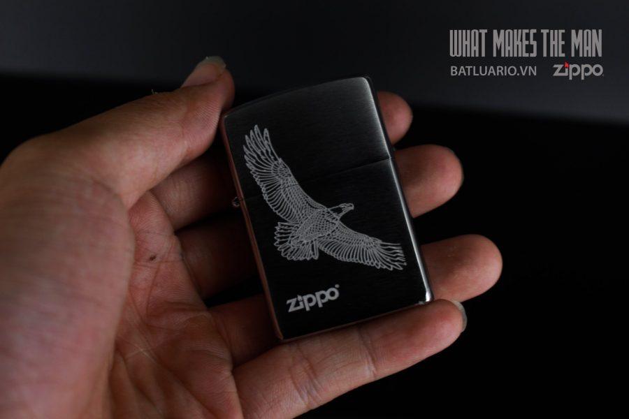 ZIPPO 200 LARGE EAGLE DESIGN 4