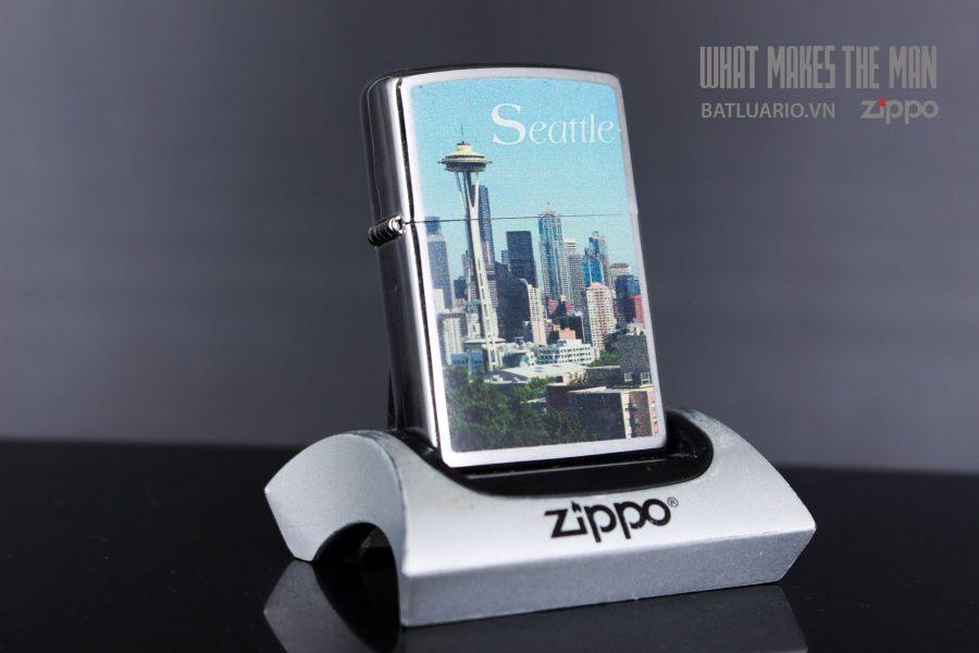 ZIPPO 200 SEATTLE SKYLINE