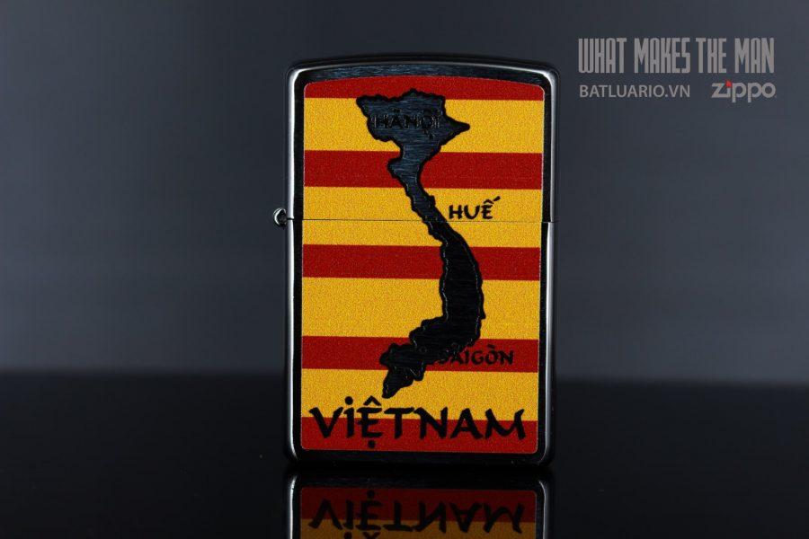 ZIPPO 200 VIETNAM MAP AND FLAG 4
