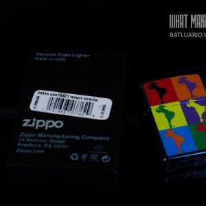 ZIPPO 20446 ABSTRACT WINDY DESIGN 1
