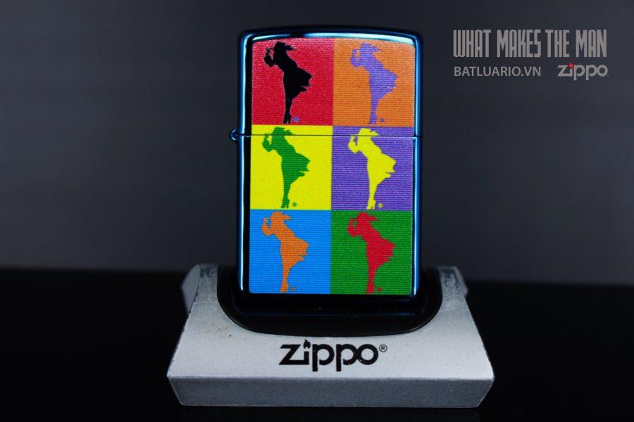 ZIPPO 20446 ABSTRACT WINDY DESIGN 2