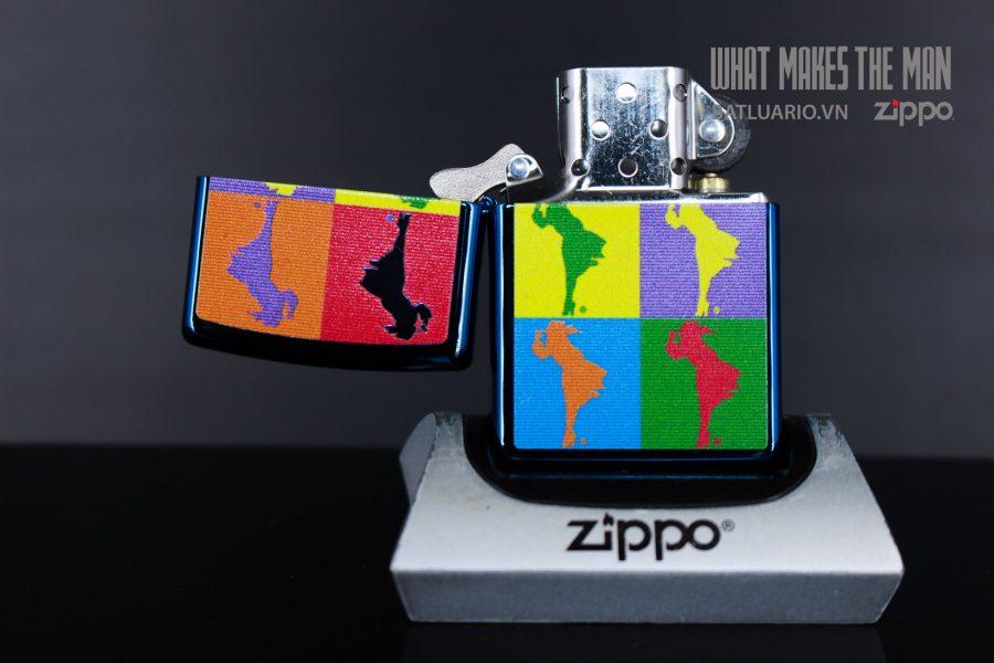 ZIPPO 20446 ABSTRACT WINDY DESIGN 3