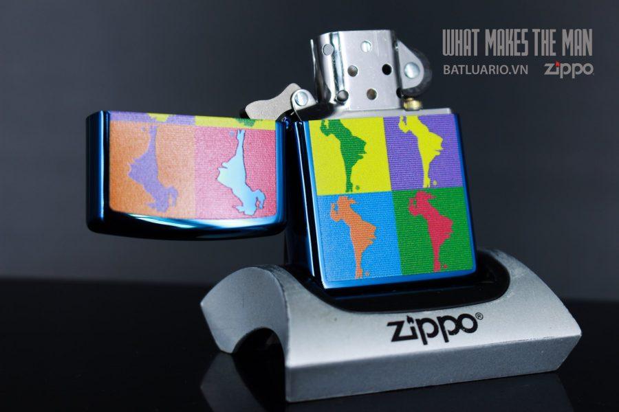 ZIPPO 20446 ABSTRACT WINDY DESIGN 4