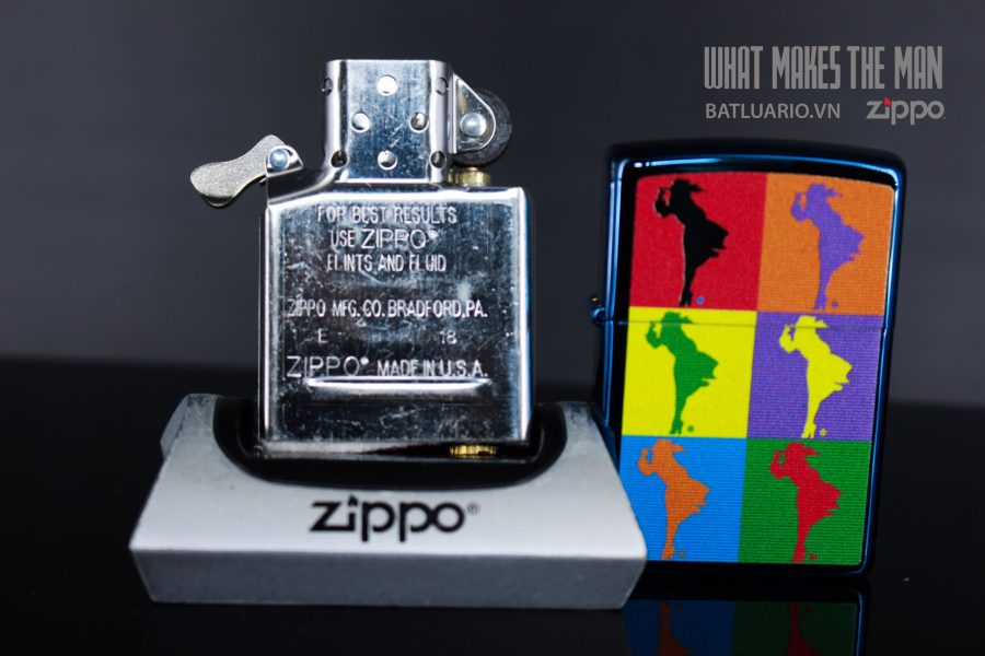 ZIPPO 20446 ABSTRACT WINDY DESIGN 7