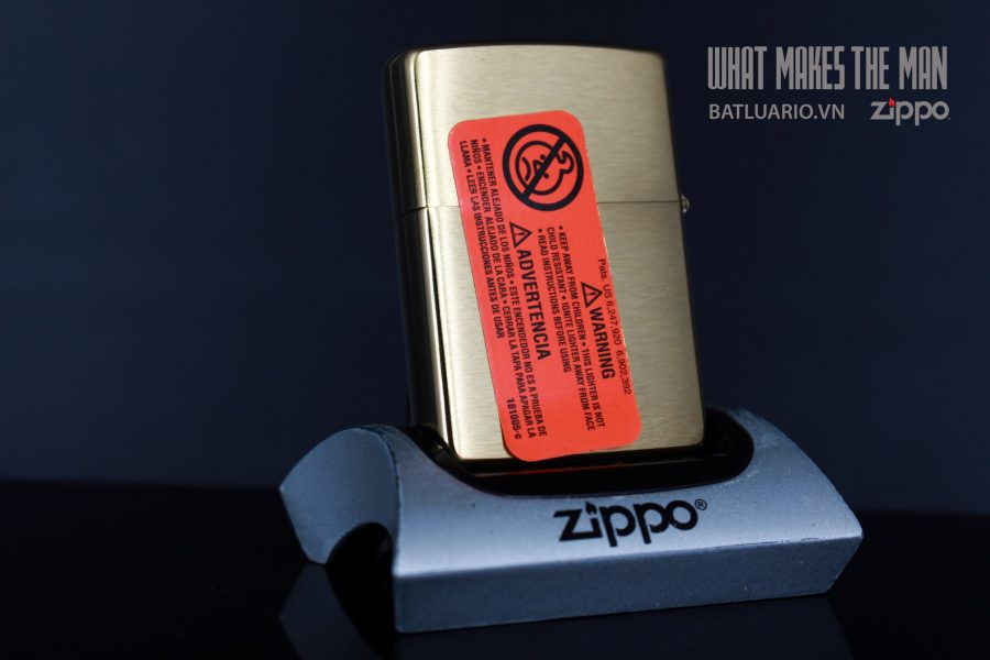ZIPPO 204B AMERICAN CLASSIC LASER 2