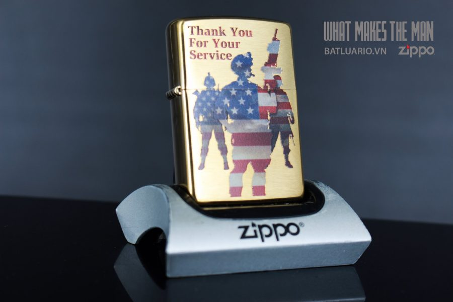 ZIPPO 204B AMERICAN SERVICE 1