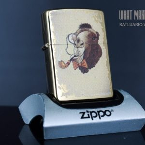 ZIPPO 204B CAMEL WITH PIPE
