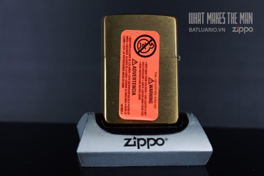 ZIPPO 204B DIAMOND GRILL DESIGN LASER 2
