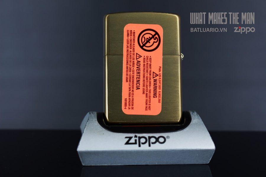 ZIPPO 204B INDIAN & TURQUOISE 2