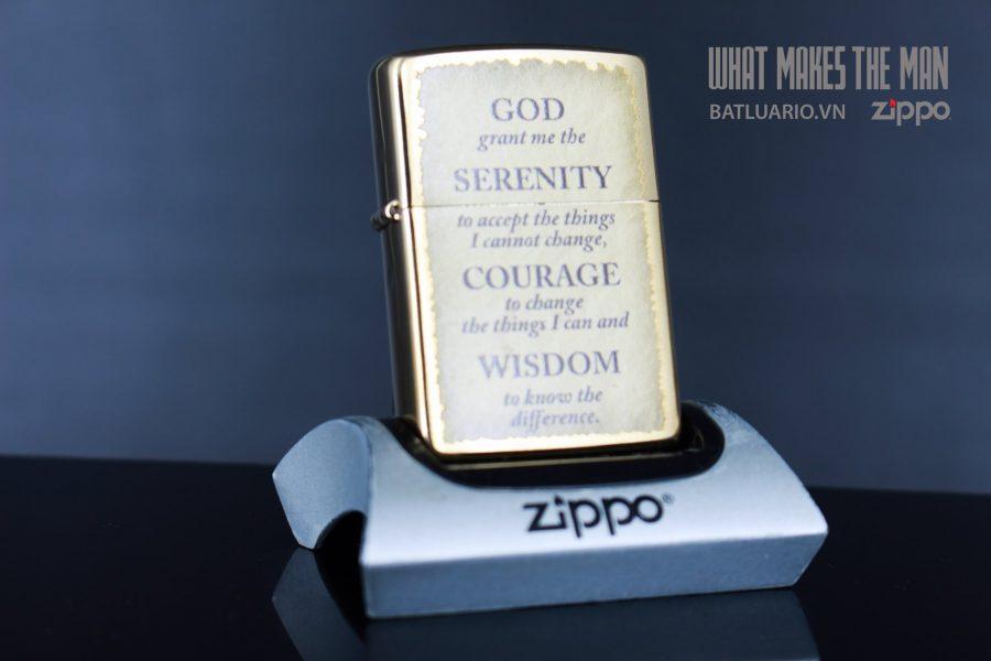 ZIPPO 204B SERENITY - COURAGE - WISDOM 1