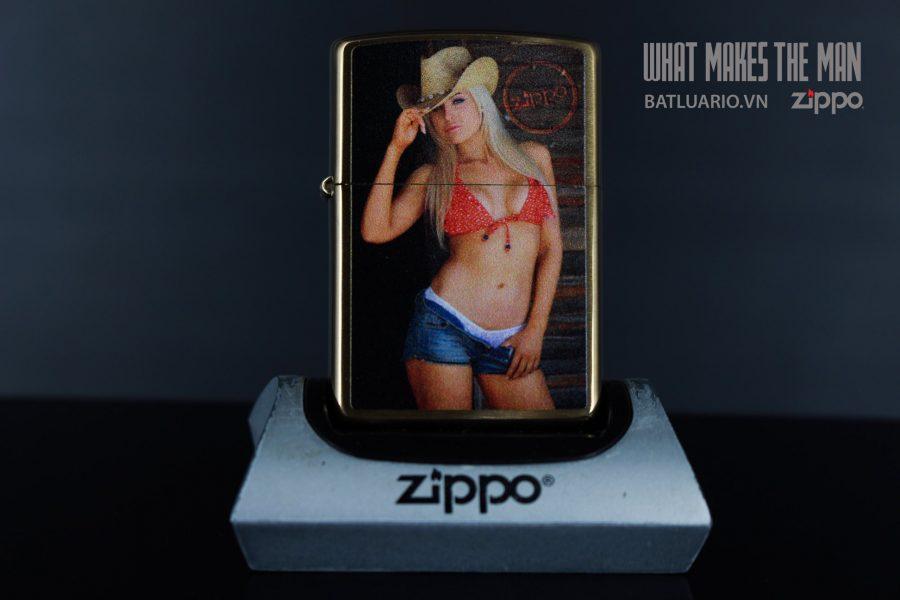 ZIPPO 204B SEXY COWGIRL 2