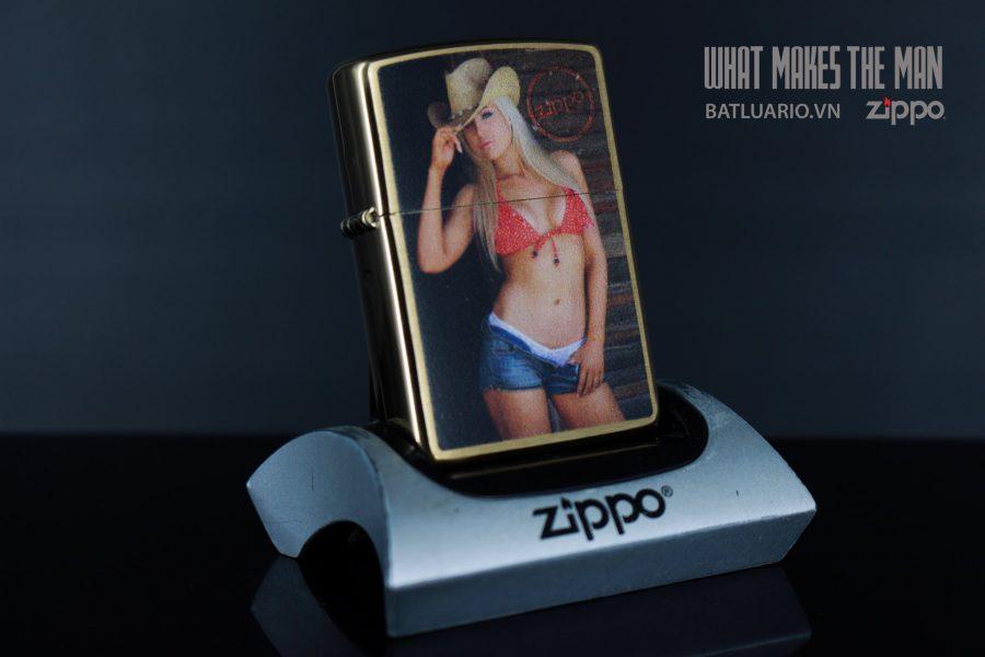 ZIPPO 204B SEXY COWGIRL