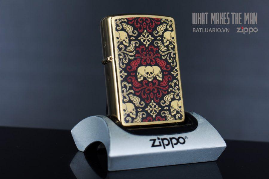 ZIPPO 204B SKULLS ORNAMENT