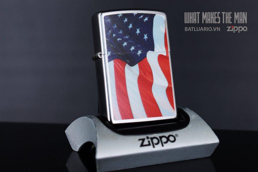 ZIPPO 205 AMERICAN FLAG