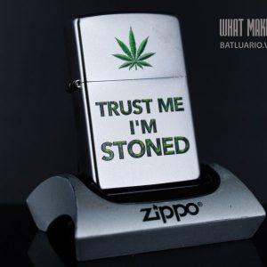 ZIPPO 205 TRUST ME