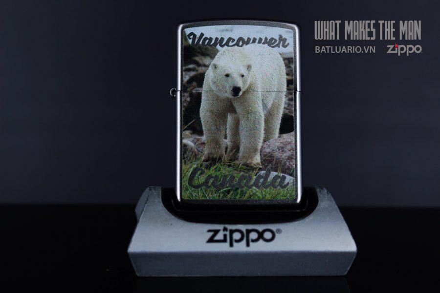ZIPPO 205 VANCOUVER CANADA POLAR BEAR 2