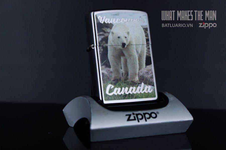 ZIPPO 205 VANCOUVER CANADA POLAR BEAR
