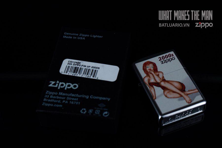 ZIPPO 205 ZIPPO PIN UP 2000S 1