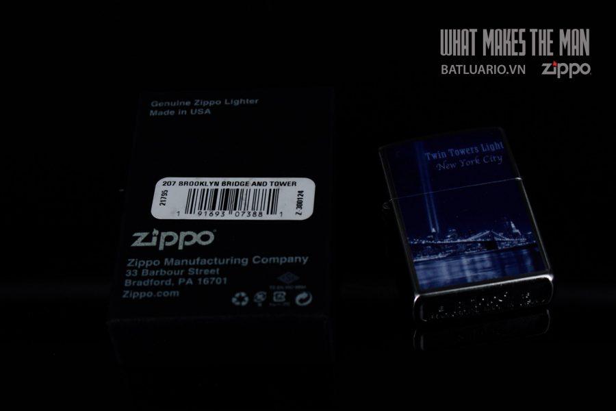 ZIPPO 207 BROOKLYN BRIDGE AND TOWER 1