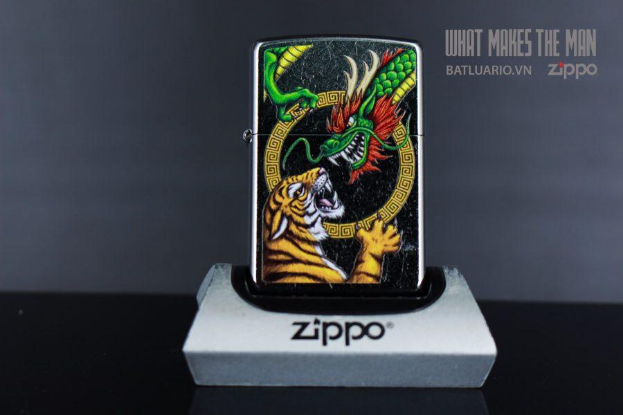 ZIPPO 207 CHINESE DRAGON DESIGN 1