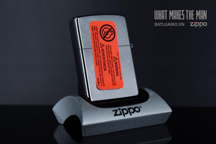 ZIPPO 207 CHROME OUT LEAF 3