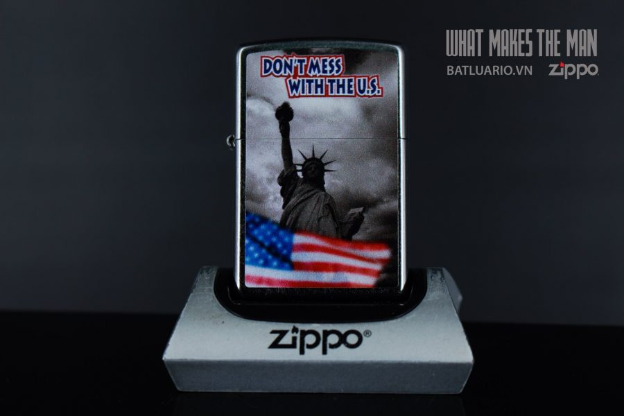 ZIPPO 207 DON'T MESS WITH THE US 2