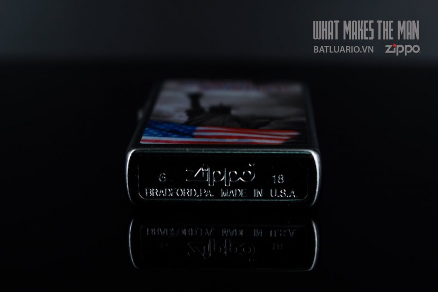 ZIPPO 207 DON'T MESS WITH THE US 3